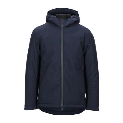 HOMEWARD CLOTHES ブルゾン ダークブルー S ウール 70% / ポリエステル 28% / ポリウレタン 2% ブルゾン