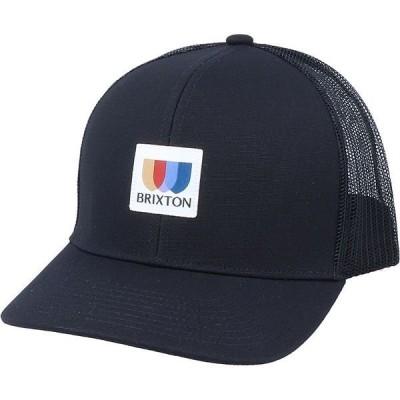 ブリクストン メンズ 帽子 アクセサリー Alpha Block X C MP Mesh Cap