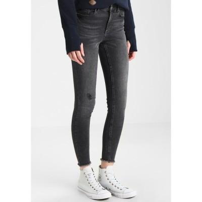 ピーシーズ デニムパンツ レディース ボトムス PCFIVE DELLY  - Jeans Skinny Fit - light grey denim