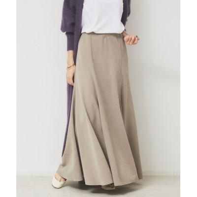 Rouge vif la cle / フィブリルマキシスカート WOMEN スカート > スカート