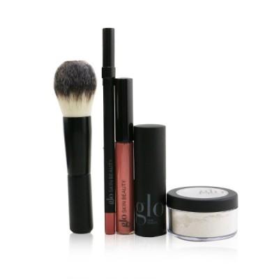 グロースキンビューティ セット&コフレ Glo Skin Beauty Ready, Set, Kiss Touch Up Kit (1x Mini Setting Powder, 1x Lip Pencil, Lipstick,