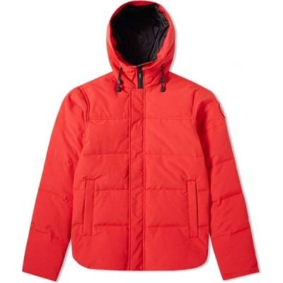カナダグース Canada Goose メンズ コート アウター Macmillan Parka Red