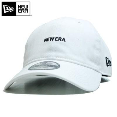 ニューエラ NEWERA キャップ 9THIRTY ミニロゴ ノンウォッシュ ホワイト