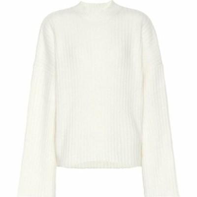 ペーター ペトロフ Petar Petrov レディース ニット・セーター トップス Kara cashmere and silk-blend sweater ivory