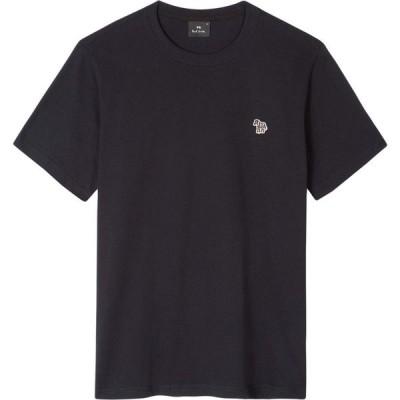 ポールスミス Paul Smith メンズ Tシャツ トップス PS Regular Fit Short Sleeve Zebra T-Shirt Navy