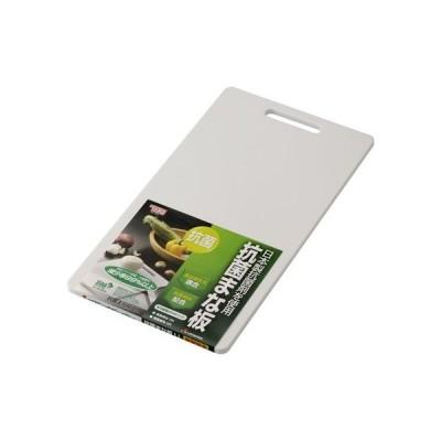 HOME&HOME 抗菌まな板 LL ホワイト 420×230×10(mm)  GITA004 キッチン