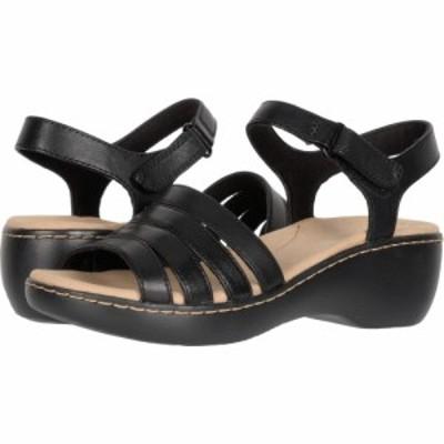 クラークス Clarks レディース サンダル・ミュール シューズ・靴 Delana Brenna Black Leather