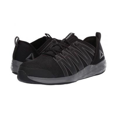 Reebok Work リーボック メンズ 男性用 シューズ 靴 スニーカー 運動靴 Astroride Work - Black/Dark Grey