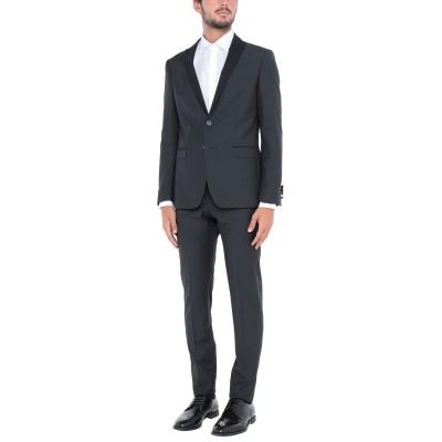 トネッロ TONELLO スーツ ブラック 48 バージンウール 100% スーツ