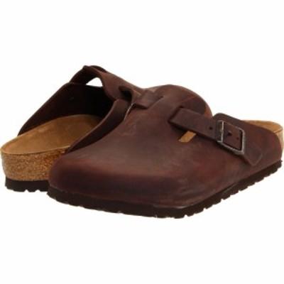 ビルケンシュトック Birkenstock レディース クロッグ シューズ・靴 Boston - Oiled Leather (Unisex) Habana Oiled Leather