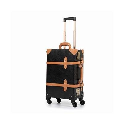 [COTRUNKAGE] キャリーケース アンティーク スーツケース TSAロック搭載 トランクケース キャリーバッグ スーツケースカバーと収納袋付き