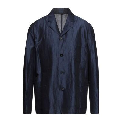 ポール・スミス PAUL SMITH テーラードジャケット ダークブルー XL ラミー 70% / コットン 30% テーラードジャケット