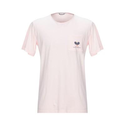 グレイ ダニエレ アレッサンドリーニ GREY DANIELE ALESSANDRINI T シャツ ライトピンク XL コットン 100% T シ
