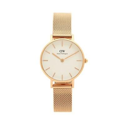 [ダニエルウェリントン] 腕時計 レディース Daniel Wellington DW00100219 DW00600219 ホワイト ローズゴールド [並行輸入品