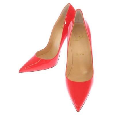 クリスチャン・ルブタン ハイヒール レディースサイズ37・1/2 Christian Louboutin 靴 ピンヒール パンプス