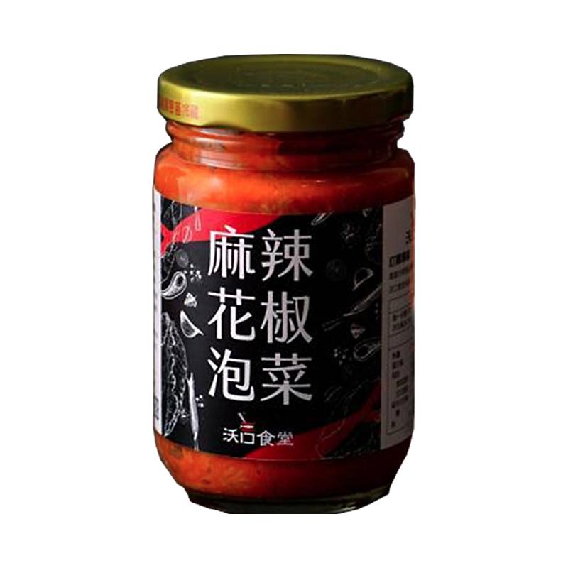 扒扒飯-麻辣花椒泡菜260g(常溫)-高聖泰