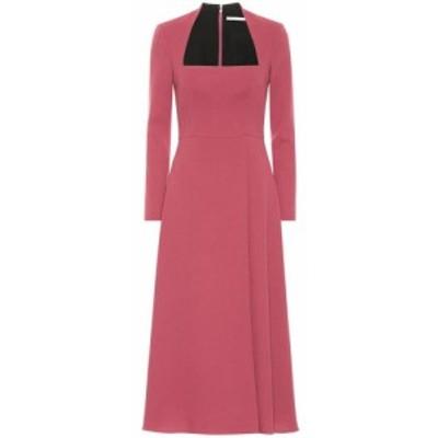 エミリア ウィックステッド Emilia Wickstead レディース ワンピース ワンピース・ドレス Glenda wool crepe dress Plum