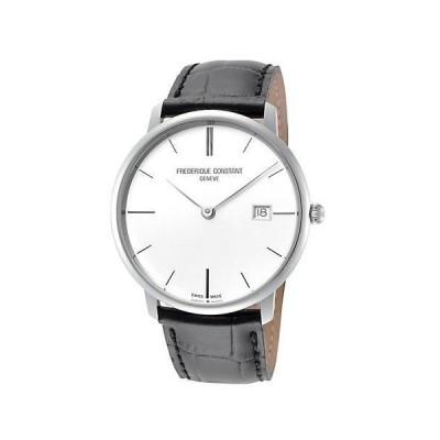 メンズ アクセサリー 時計 Frederique Constant Men's Slimline Watch