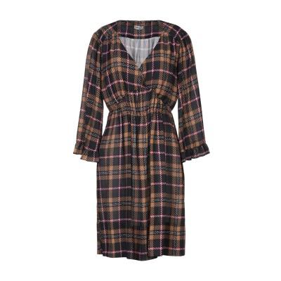 リュー ジョー LIU •JO ミニワンピース&ドレス ブラウン 46 ポリエステル 100% ミニワンピース&ドレス