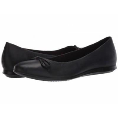 ECCO エコー レディース 女性用 シューズ 靴 フラット Touch Ballerina 2.0 Black Sheep Leather【送料無料】