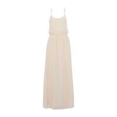 アニン・ビン ANINE BING ロングワンピース&ドレス ベージュ S シルク 100% ロングワンピース&ドレス