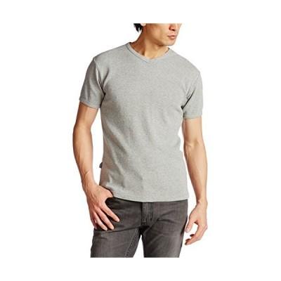 [アヴィレックス] ミニワッフルTシャツ半袖 DAILY MINI WAFFLE V-NECK T-SHIRT 6143149 メンズ