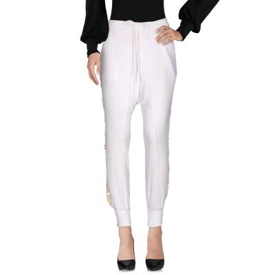 パロッシュ P.A.R.O.S.H. パンツ ホワイト S 90% レーヨン 10% ポリウレタン パンツ