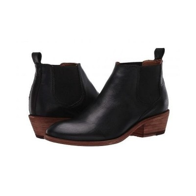 Frye フライ レディース 女性用 シューズ 靴 ブーツ チェルシーブーツ アンクル Carson Chelsea - Black Full Grain Leather