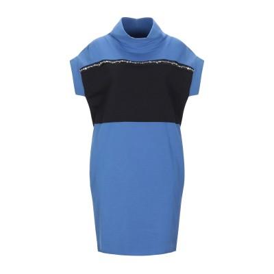 ジジル JIJIL ミニワンピース&ドレス アジュールブルー 40 コットン 94% / ポリウレタン 6% ミニワンピース&ドレス