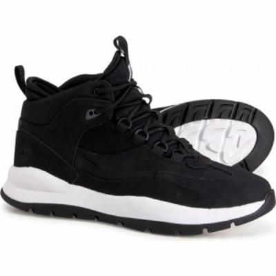 ティンバーランド Timberland メンズ ブーツ シューズ・靴 boroughs project mid boots - waterproof. nubuck Black Nubuck