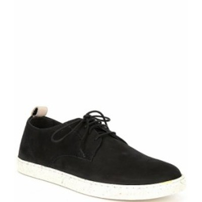 スティーブ マデン メンズ ドレスシューズ シューズ Men's Hackney Nubuck Lace-Up Sneakers Black