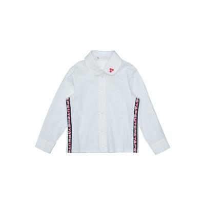 ピューテリー PEUTEREY シャツ ホワイト 24 コットン 100% シャツ