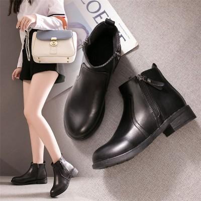 ブーツ レディース ブーティ ショートブーツ 女子 マーティンブーツ 厚底靴 クール カジュアルシューズ