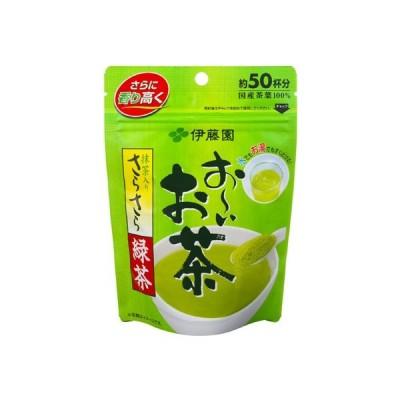 お〜いお茶 さらさら抹茶入り緑茶 40g 伊藤園