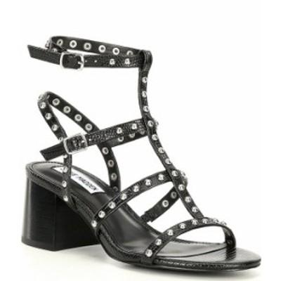 スティーブ マデン レディース サンダル シューズ Denali Studded Detail Block Heel Sandals Black/Multi