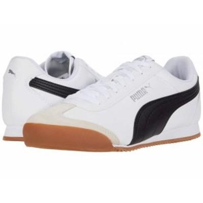PUMA プーマ メンズ 男性用 シューズ 靴 スニーカー 運動靴 Turino Puma White/Puma Black/Gum【送料無料】