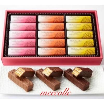 BERNE  MILLEFEUILLES   ベルン ミルフィーユ  30個入 チョコレート  贈答品 プレゼント お土産袋付き