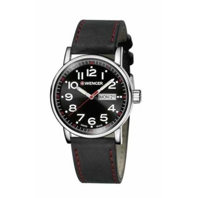 ウェンガー 腕時計 Wenger Swiss army ATTITUDE アティチュード blacks Watch 0341.103 NEW