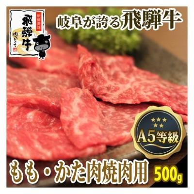 肉 牛肉 バーベキュー 焼肉 飛騨牛 A5等級 ももかた肉500g  和牛 国産 BBQ おうち焼き肉に!