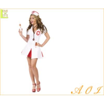 【レディ】ナース【Nurse】【看護婦】【病院】【看護師】【セクシー】【ハニー】【仮装】【衣装】【コスプレ】【コスチューム】【ハロウ