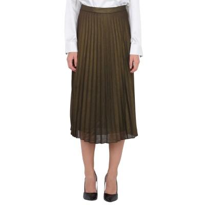 TWIST & TANGO 7分丈スカート ブロンズ 38 ポリエステル 100% 7分丈スカート