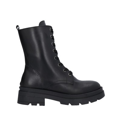 DIVINE FOLLIE ショートブーツ ブラック 41 牛革(カーフ) ショートブーツ