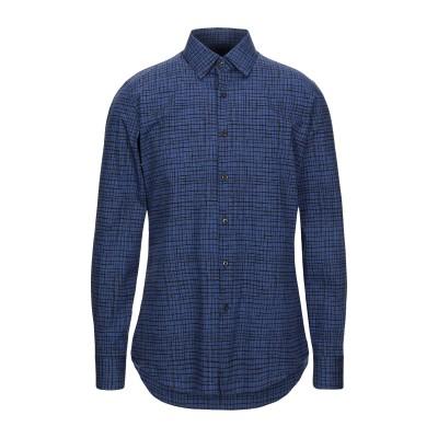プラダ PRADA シャツ ブルー 40 コットン 100% シャツ