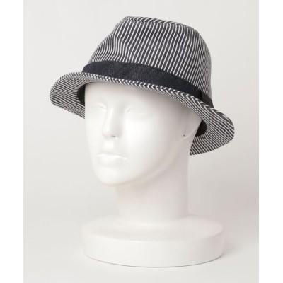 ZOZOUSED / ストライプ柄ハット WOMEN 帽子 > ハット