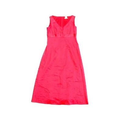 【中古】ジェイクルー J.CREW ノースリーブ ドレス ワンピース カットソー Aライン コットン 2 ピンク レディース♪8  【ベクトル 古着】