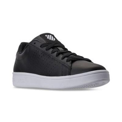 ケースイス メンズ スニーカー シューズ Men's Court Casper Casual Sneakers from Finish Line BLACK/WHITE
