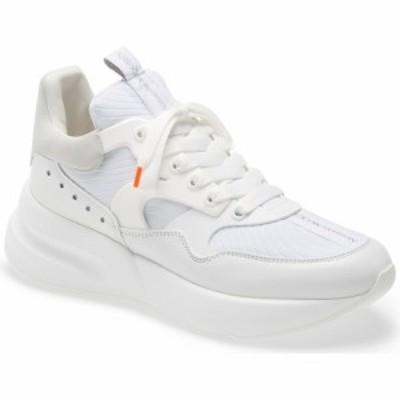 アレキサンダー マックイーン ALEXANDER MCQUEEN メンズ スニーカー シューズ・靴 Runner Sneaker White/Paris Blue