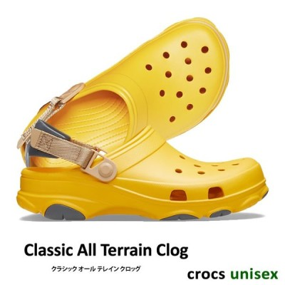 CROCS【クロックス/ユニセックス】Classic All Terrain Clog/ クラシック オール テレイン クロッグ/ カナリー|206340