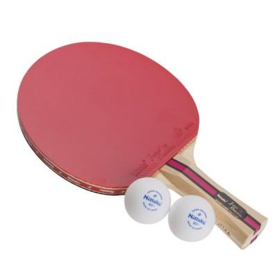 ニッタク(Nittaku) 卓球 ラケット ジャパンオリジナルプラス シェーク1000 シェークハンド 貼り上げ NH-5131