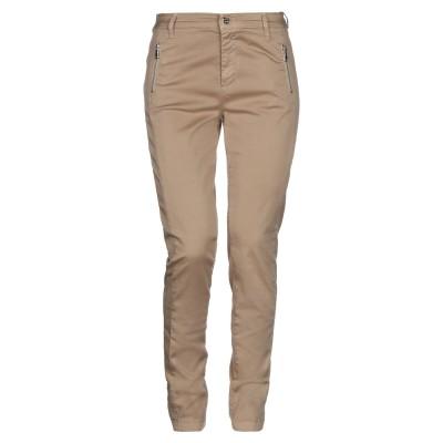 リュー ジョー LIU •JO パンツ サンド 26 コットン 96% / ポリウレタン 4% パンツ